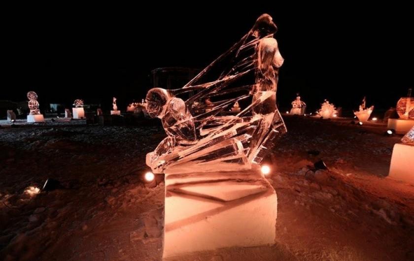 Location de vacances - Appartement à Valloire - Concours annuel de sculptures sur glaces, mi janvier