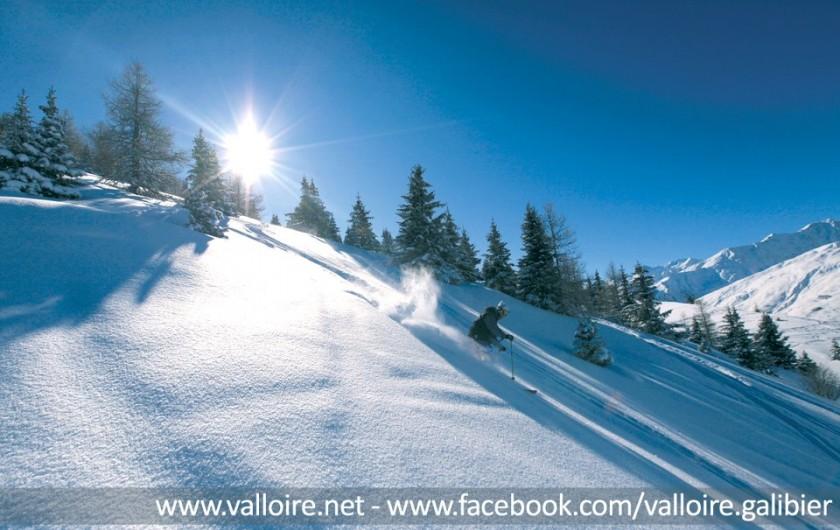 Location de vacances - Appartement à Valloire - Du hors-piste