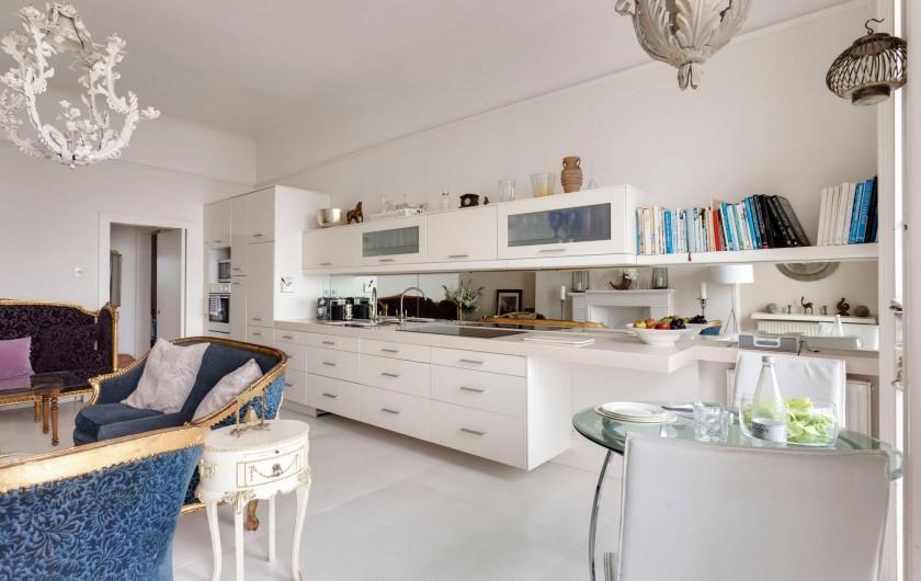 Location de vacances - Appartement à Saint Leonards - Cuisine overte dans le salon