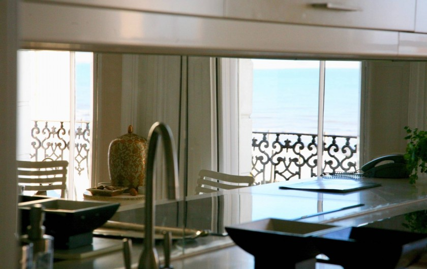 Location de vacances - Appartement à Saint Leonards - Dans la cuisine