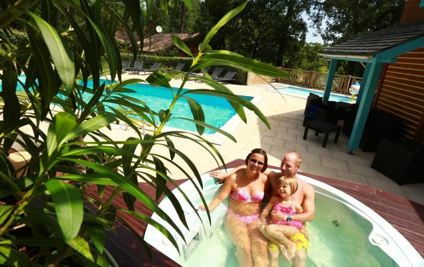 Location de vacances - Chalet à Messanges - Jaccuzzi