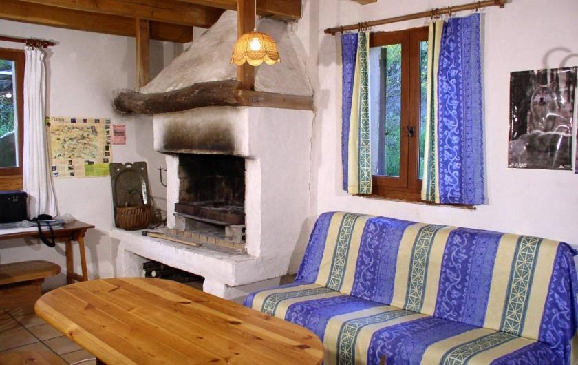 Location de vacances - Gîte à Le Pont-de-Montvert - un séjour cheminée
