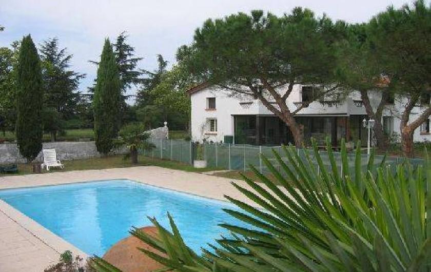 Location de vacances - Villa à Castelnau-d'Estrétefonds