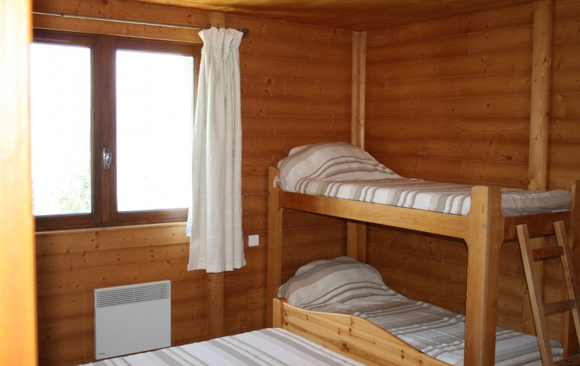 Location de vacances - Appartement à Peisey-Nancroix - Chambre 2