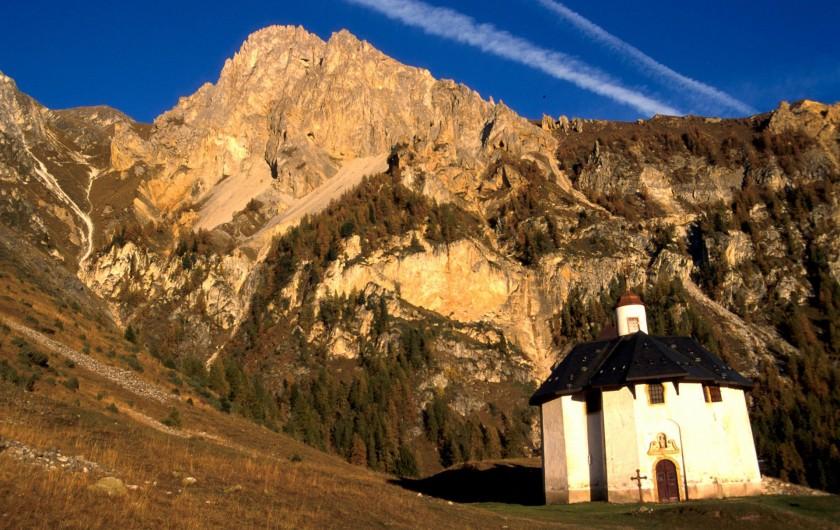 Location de vacances - Appartement à Peisey-Nancroix - La chapelle des Vernettes