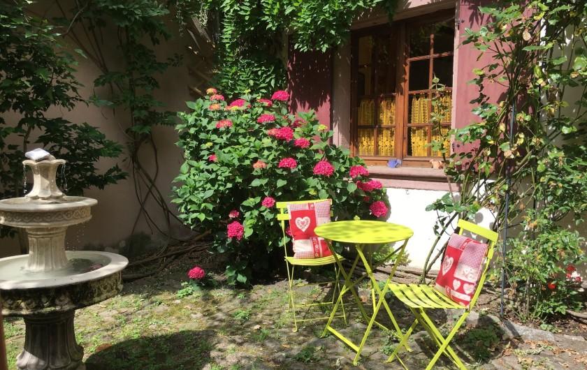 Location de vacances - Gîte à Ribeauville - Ambiance calme dans une bâtisse classée de 1578