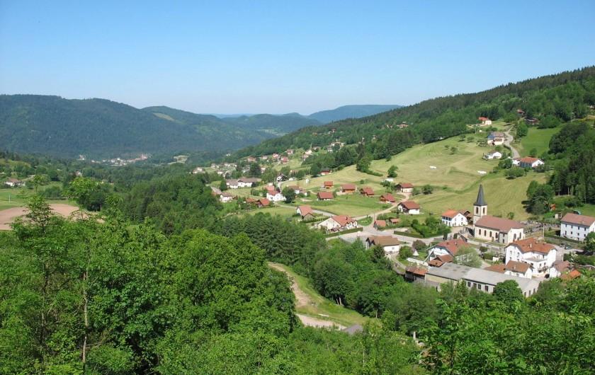 Location de vacances - Chalet à Basse-sur-le-Rupt - Village de Planois