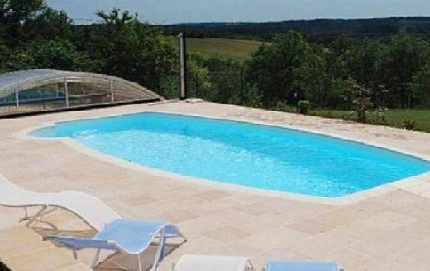 Location de vacances - Gîte à Auriac-du-Périgord - Piscine
