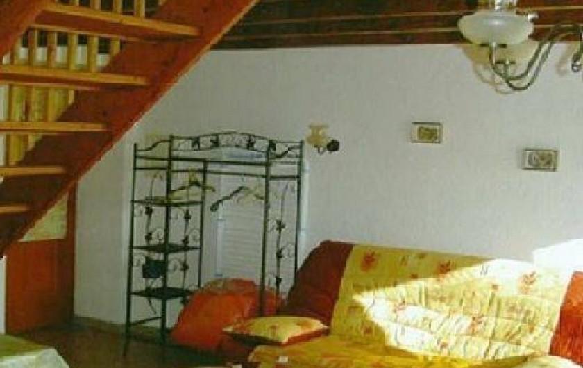 Location de vacances - Gîte à Auriac-du-Périgord - Pièce à vivre