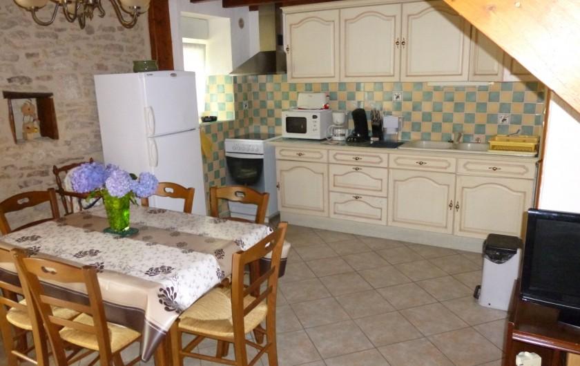 Location de vacances - Gîte à Auriac-du-Périgord - Cuisine