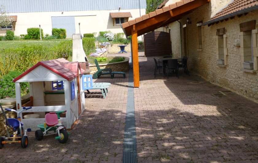 Location de vacances - Gîte à Auriac-du-Périgord - Terrasse