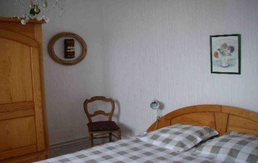 Location de vacances - Maison - Villa à Roscoff - Chambre double vue port