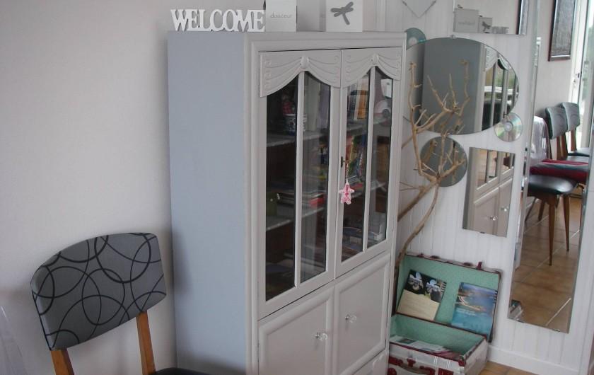Location de vacances - Maison - Villa à Roscoff - coin documentaire