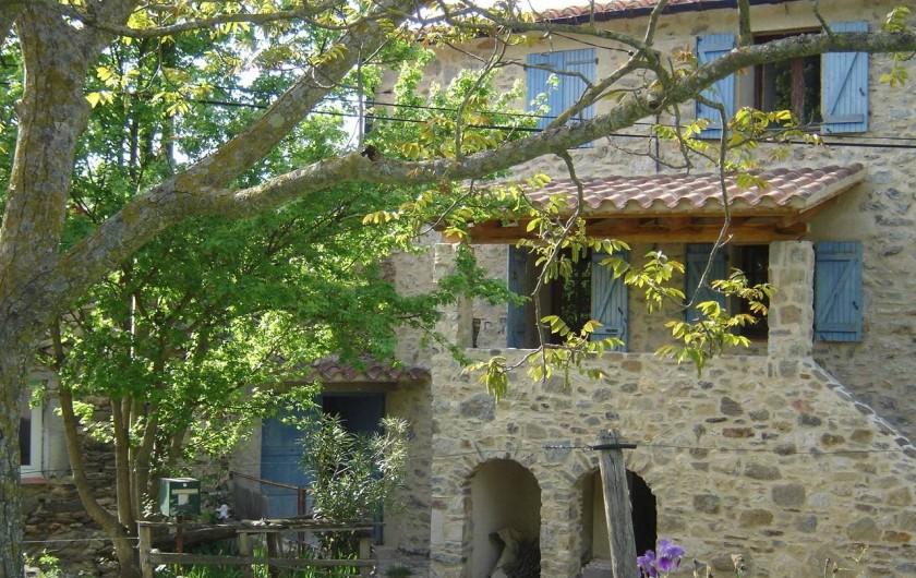 Location de vacances - Appartement à L'Albère - L'entrée du gîte