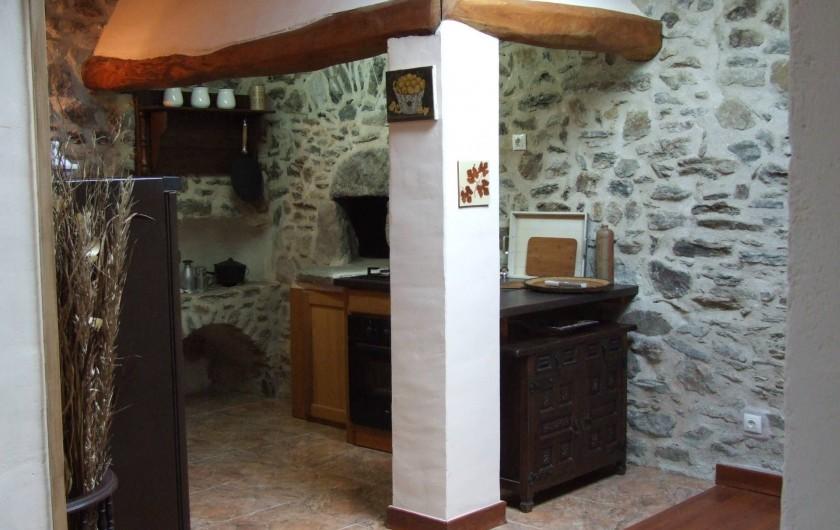 Location de vacances - Appartement à L'Albère - La cuisine