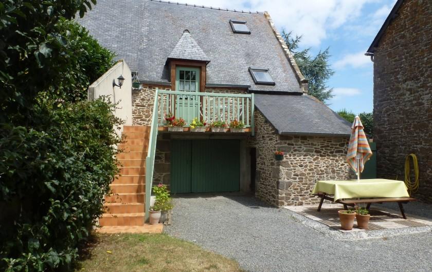 Location de vacances - Gîte à Châteauneuf-d'Ille-et-Vilaine - Extérieur