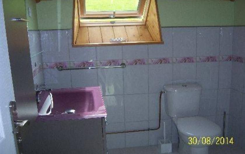 Location de vacances - Gîte à Le Claux - WC - Étage