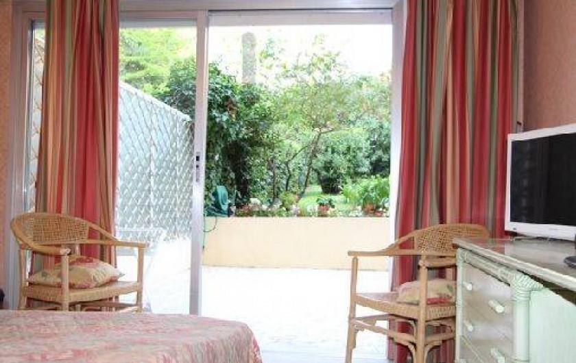 Location de vacances - Appartement à Cannes - CHAMBRE 2 LITS