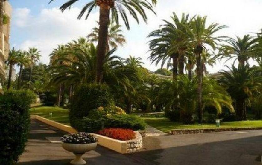 Location de vacances - Appartement à Cannes - PARC