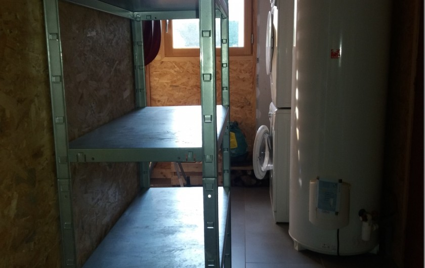Location de vacances - Chalet à Chastreix - cellier