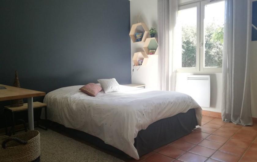 Location de vacances - Maison - Villa à Cabrières-d'Avignon - Chambre double