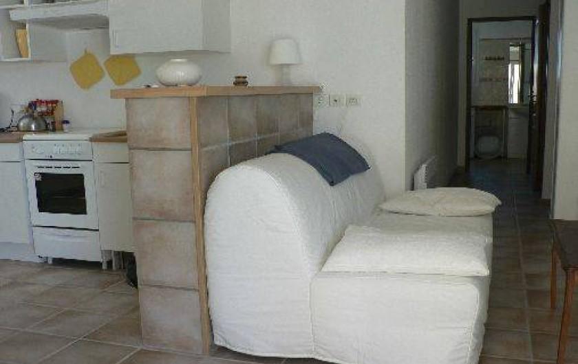 Location de vacances - Villa à Frontignan - Coin salon Frontignan