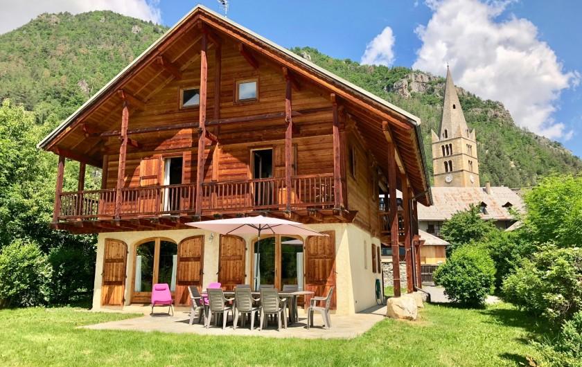 Location de vacances - Chalet à Vallouise - Chalet Chabrand exterior