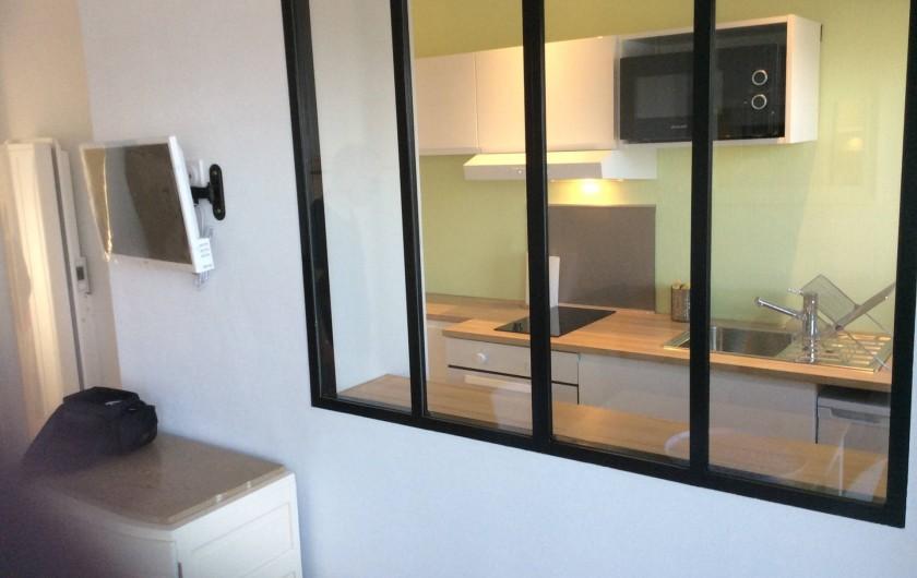 Location de vacances - Studio à Trégastel - aperçu de la cuisine