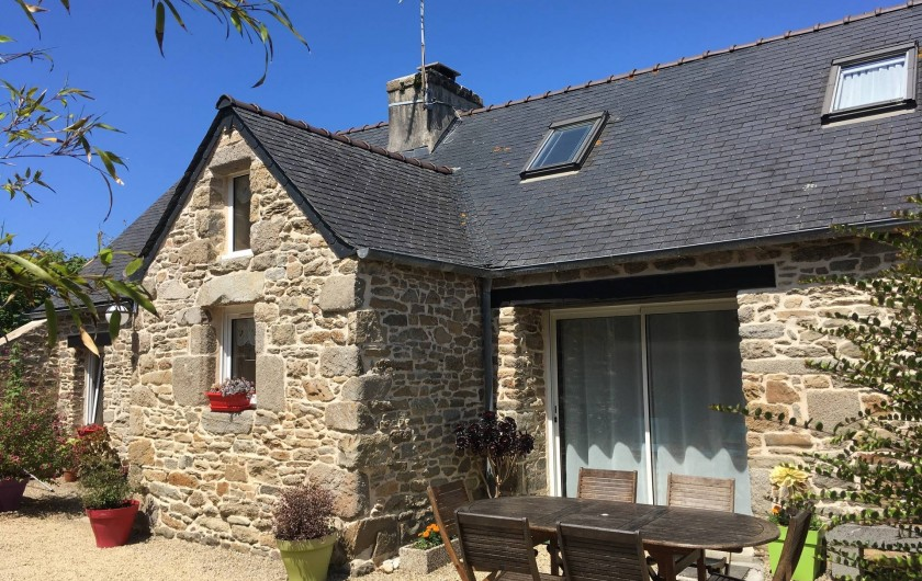 Location de vacances - Maison - Villa à Roscoff - Vue sud du Gîte