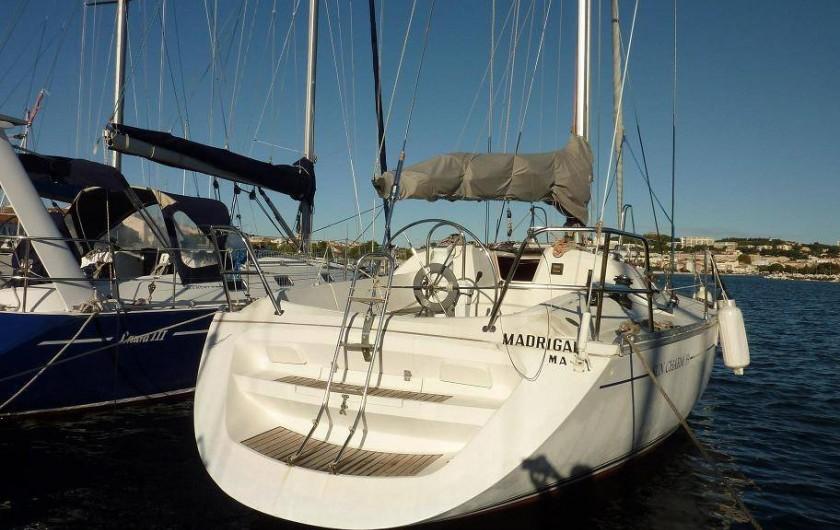Location de vacances - Villa à La Ciotat - Navigation vers les îles, sur voilier habitable    huit couchages