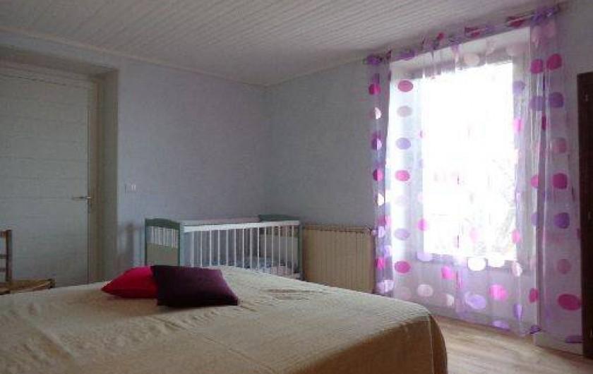 Location de vacances - Gîte à Plan-de-Baix - La chambre (1 lit de 160 + lit bébé)