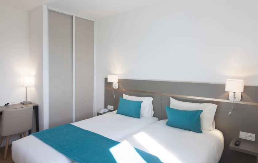 Location de vacances - Appartement à Malbuisson - Chambre de la suite