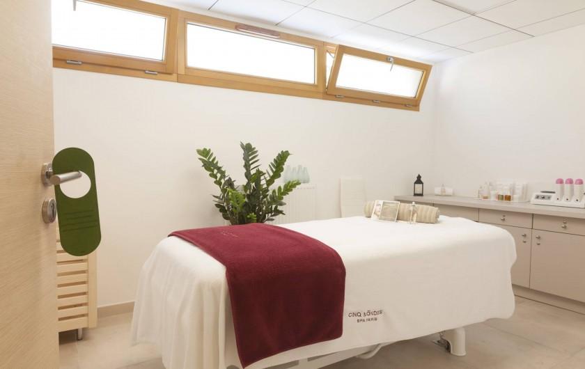 Location de vacances - Appartement à Malbuisson - Salle de Massage