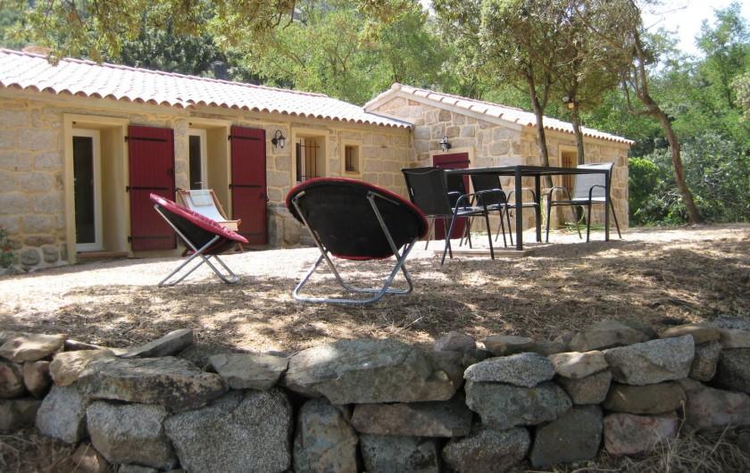 Location de vacances - Appartement à Sartène - Terrasse
