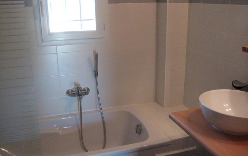 Location de vacances - Appartement à Sartène - Salle de bain  pour chambre 1 et 2
