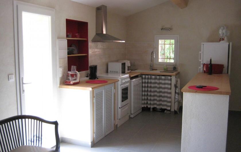 Location de vacances - Appartement à Sartène - Séjour coté cuisine