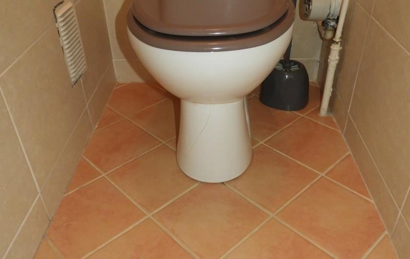 Location de vacances - Appartement à Marseille - WC
