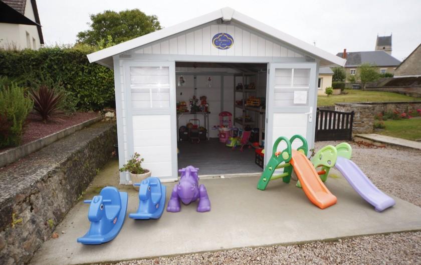 Location de vacances - Gîte à Sainteny - Paradis des enfants Aladdin's cave