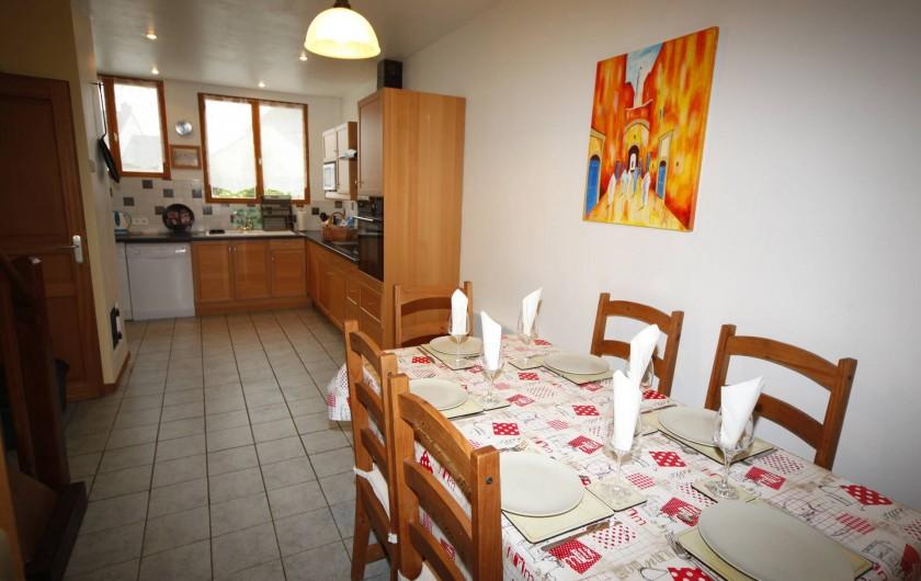 Location de vacances - Gîte à Sainteny - cuisine et salle à manger