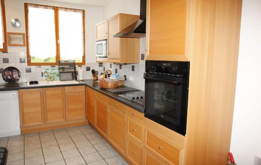 Location de vacances - Gîte à Sainteny - cuisine