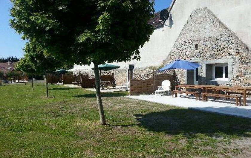 G te avec grande piscine chauff e bord de mer gouville for Camping basse normandie bord de mer avec piscine