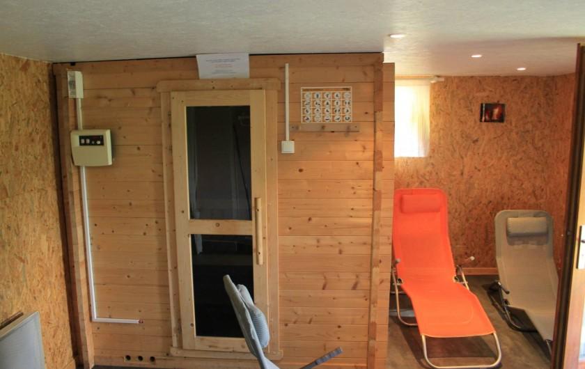 Location de vacances - Gîte à Willer-sur-Thur - sauna