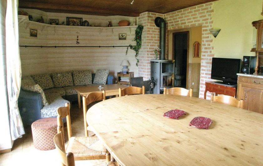 Location de vacances - Gîte à Willer-sur-Thur - séjour salle a manger