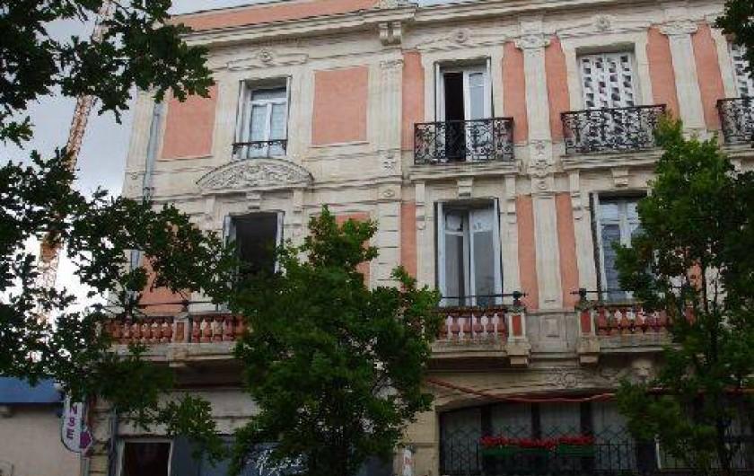 Location de vacances - Appartement à Arcachon - notre bâtiment