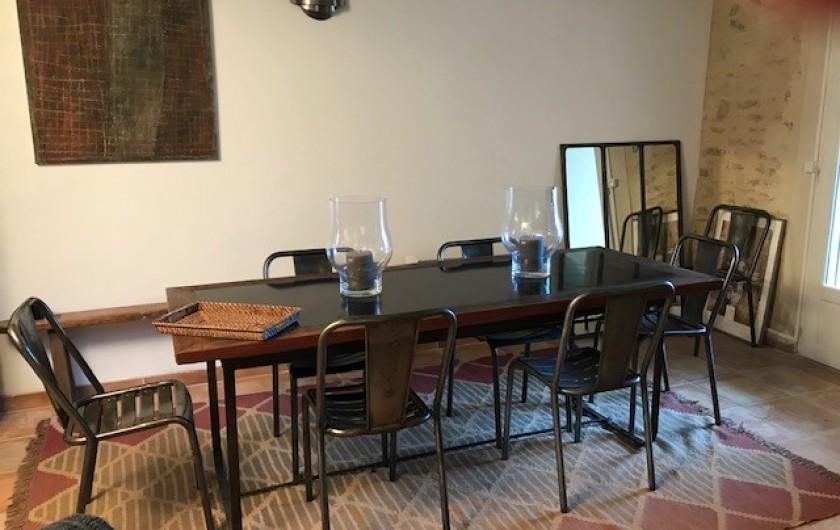 Location de vacances - Mas à Le Pin - salle à manger