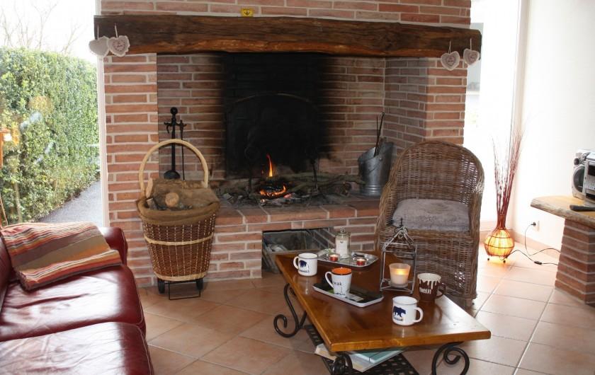 Location de vacances - Gîte à Lafrançaise - Chambre bleue, deux lits 90/190.