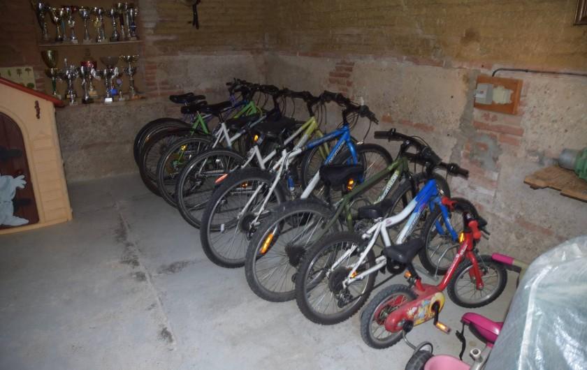 Location de vacances - Gîte à Lafrançaise - Vélos à disposition gratuite.