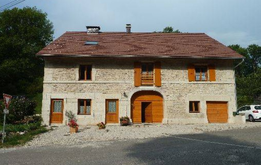 Location de vacances - Gîte à La Chaux-du-Dombief