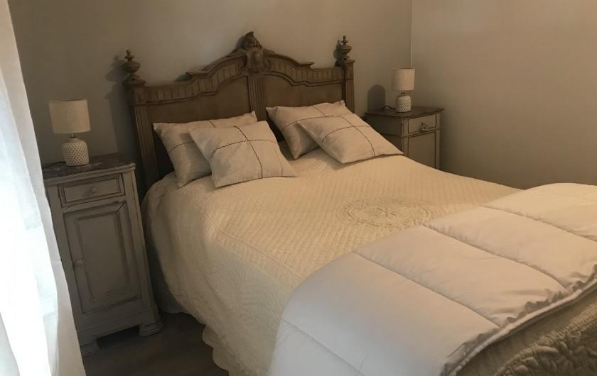 Location de vacances - Gîte à Buis-les-Baronnies - Chambre 2  Lit en 140