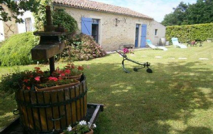 Location de vacances - Gîte à Mareuil-sur-Lay-Dissais - Accés entrée sud - gite principale